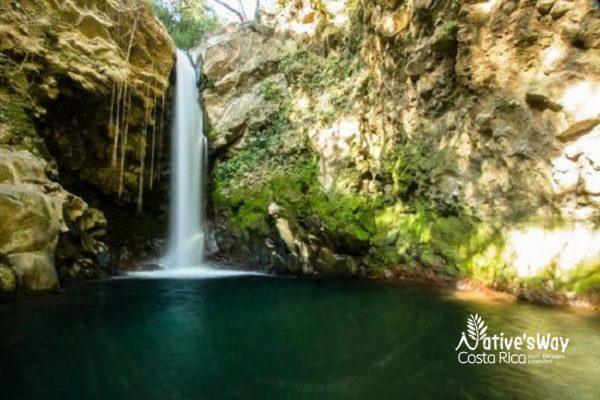 Oropendola Waterfall - Rincon de la Vieja Volcano National Park Tours - Native's Way Costa Rica Tours and Transfers