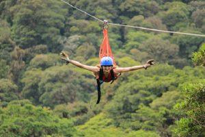 Superman Zipline - Monteverde Cloud Forest Tour - Native's Way Costa Rica Tours