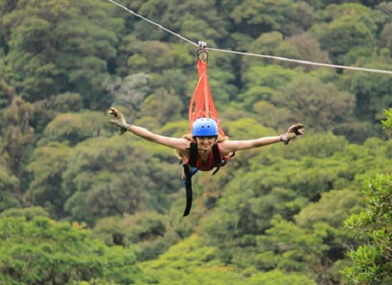 Superman Zipline - Monteverde Cloud Forest Tour - Native's Way Costa Rica Tours