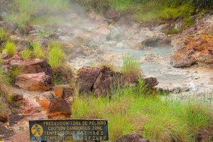 Volcanic Lake - Rincon de la Vieja Volcano National Park Tours - Native's Way Costa Rica Tours and Transfers