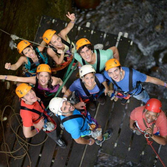 Ziplining Canyoning Tour Ziplining Tour - Hacienda Guachipelin Adventure Tour Combo - Native's Way Costa Rica Tours
