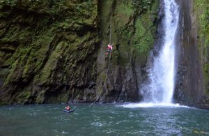 Waterfall Rappeling - Native's Way Costa Rica Tours - Arenal Tours